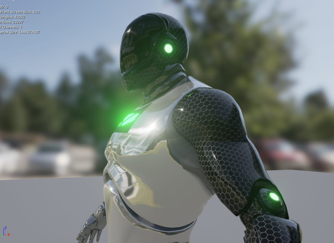 Redshift Animation - Mechanical Arm | Independent Study