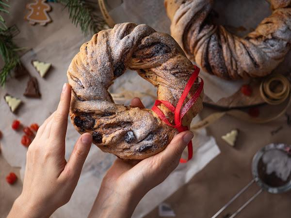 Рецепт рождественских булочек