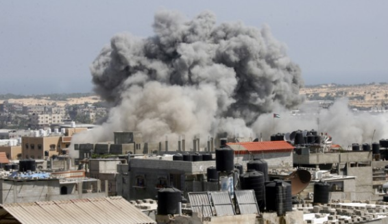 """فرض """"وقف لإطلاق النار"""" في غزة بعد بضعة أيام من الصراع"""