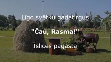 """Īslīces pagastā noslēdzies gadatirgus """"Čau, Rasma!"""""""