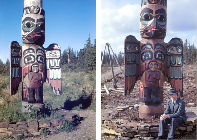 Lincoln's sculpture in Ketchikan, Alaska