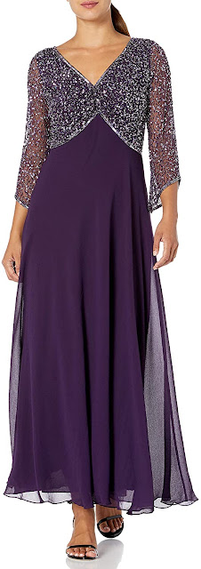 Nice Purple Mother of The Bride Dresses