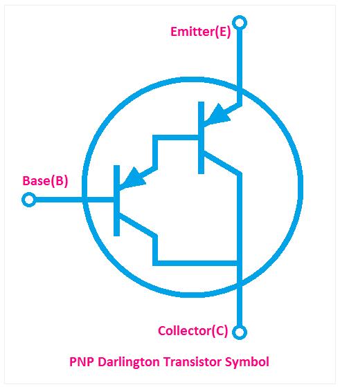 PNP Darlington Transistor Symbol