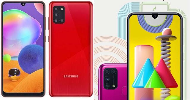 Perbedaan Samsung Galaxy M31 vs Galaxy A31