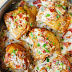 Skillet Chicken with Bacon Cream Sauce #Recipe