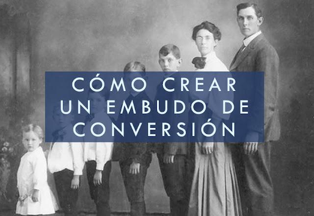 Cómo crear un embudo de conversión