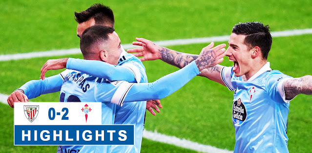 Athletic Club vs Celta de Vigo – Highlights
