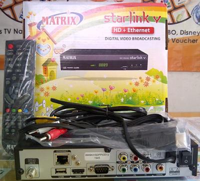 Digital Receiver Matrix Starlink V HD Ethernet