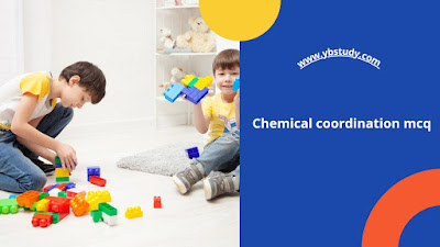 Chemical coordination and integration mcq for neet pdf
