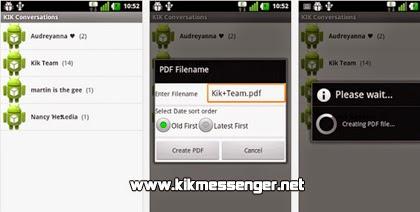 Convierte tu contenido de Kik Messenger con KikToPdf