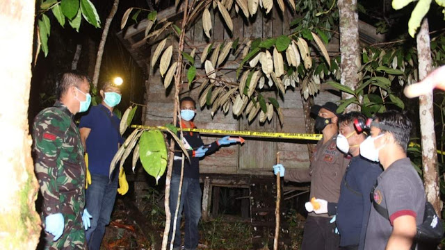Mayat Pria Membusuk Ditemukan Warga di Sebuah Pondok, Rupanya Warga Rirang Jati dilaporkan Hilang hampir 1 bulan yang lalu