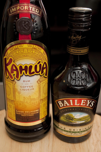 baby guinness, guinness beer shot, kahlua, coffee liqueur, baileys irish cream liqueur