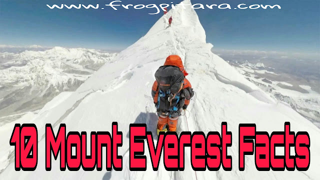 10 Things To Know About Mount Everest Facts And History In Hindi