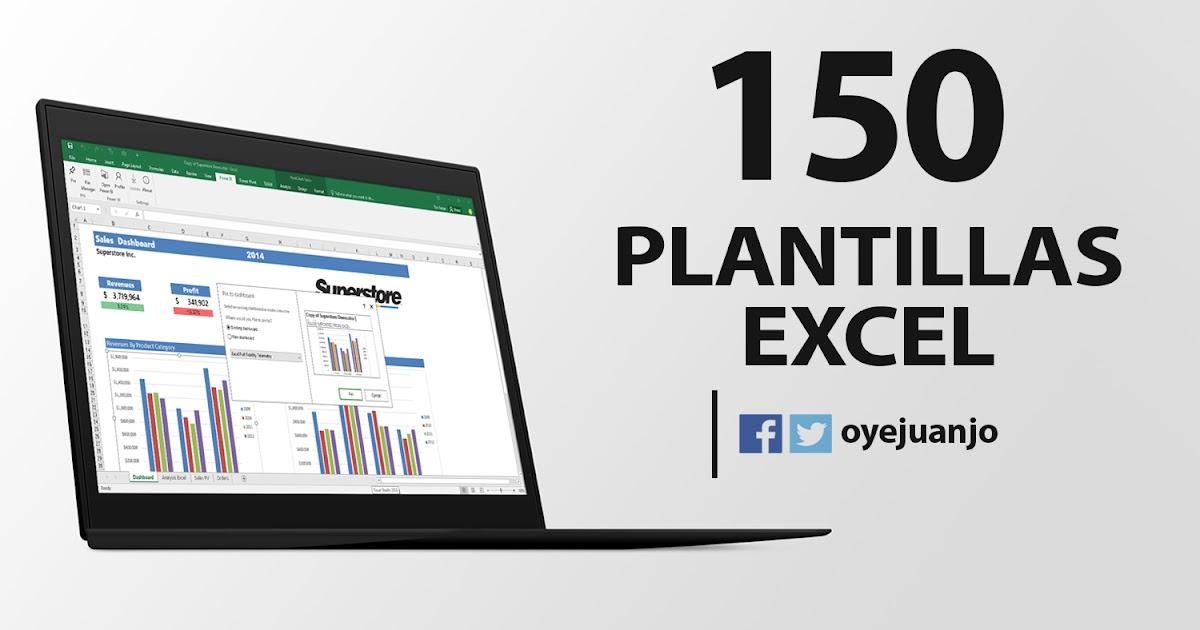 150 plantillas Excel de Contabilidad y Gestión Empresarial Oye Juanjo! - formatos de excel gratis