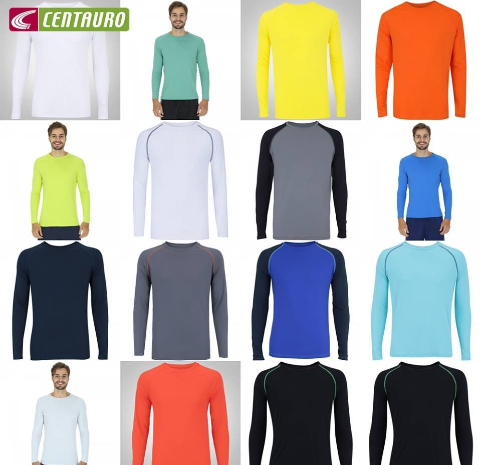 4a8a47a4f1f30 Camiseta Manga Longa com Proteção Solar UV50 Oxer Custom - Masculina