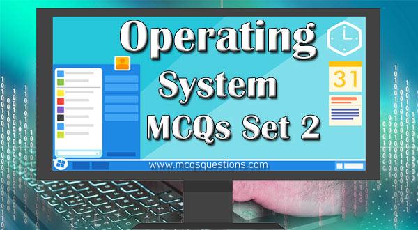 operating system mcqs nts