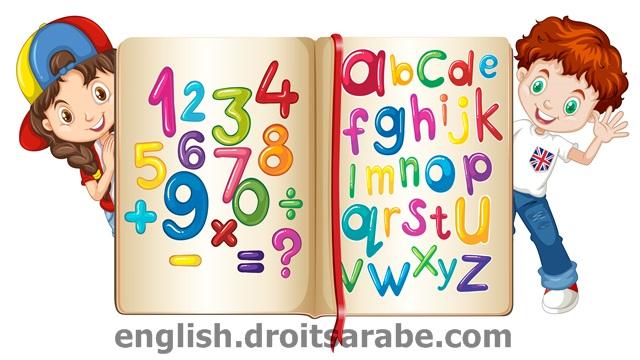 الارقام بالانجليزية و كذلك نطق الأرقام بالانجليزي