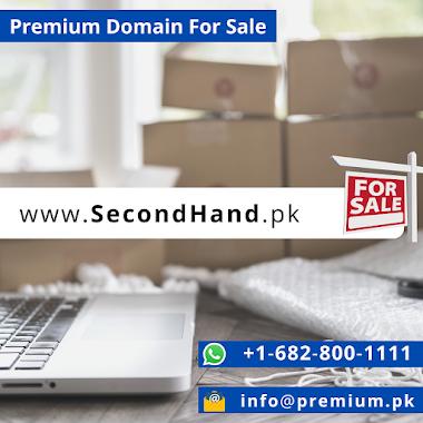 SecondHand.pk Premium Domain For Sale