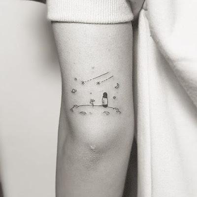 Tatuajes cósmicos que te harán ver mística