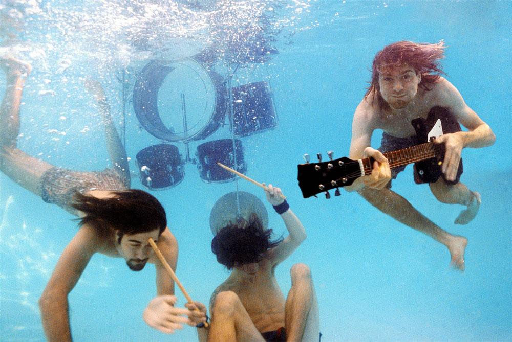 """Desde Nirvana publican """"nueva"""" portada del Nevermind"""