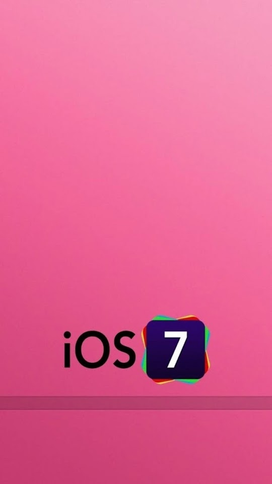 iOS 7 Logo with Pink Background   Galaxy Note HD Wallpaper