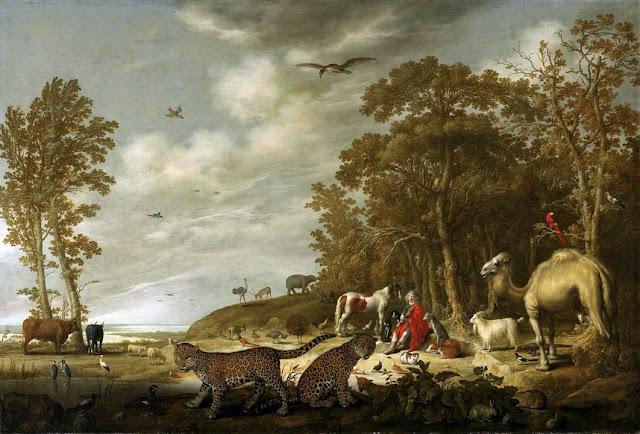 Альберт Кёйп - Орфей с животными в пейзаже. ок1640
