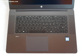 HP ZBook Studio G3 teclado