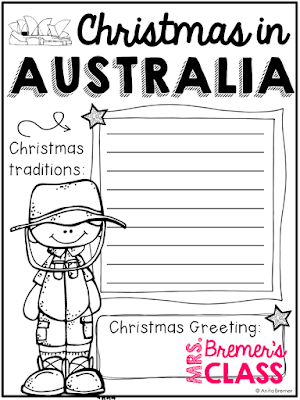NO PREP Christmas around the world activity pack featuring 10 countries in every inhabited continent! Includes information posters, student worksheets, and student passports to document their journey around the globe! Countries featured include Canada/USA, Mexico, Brazil, Ethiopia, Japan, China, Australia, The Netherlands, Sweden, and Italy. Continents include North America, South America, Australia, Asia, Africa, and Europe.