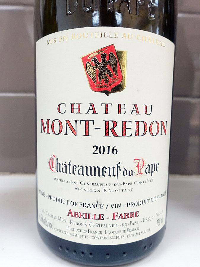 Château Mont-Redon Châteauneuf-du-Pape 2016 (91 pts)