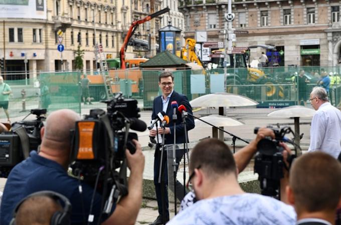 Kamu Geri felszólította a Fideszt: ne hergeljenek a Blaha Lujza téri felújítás miatt