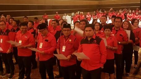 Mantiri Kembali Pimpin PDI Perjuangan Kota  Bitung
