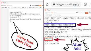 How To Add Code Box With Scroll In Blogger Post