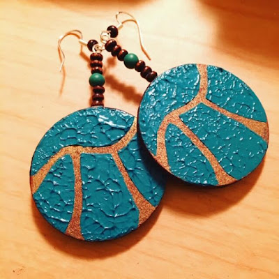 Pi earrings combine your love of math teaching and fashion!