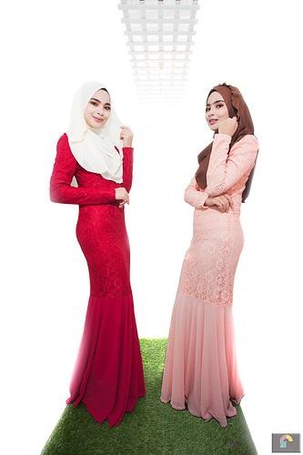 pose model hijab hunting