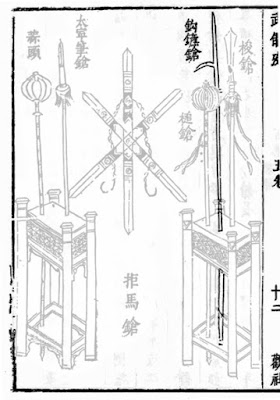 Chinese Hooked Spear