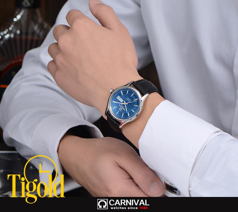 đồng hồ nam carnival chính hãng giá rẻ