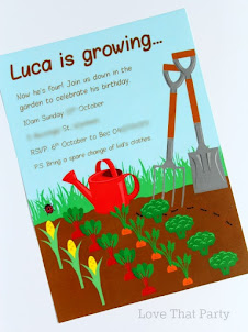 Gardening Party Invitation