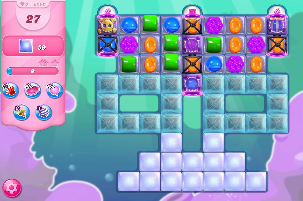 Candy Crush Saga level 8252