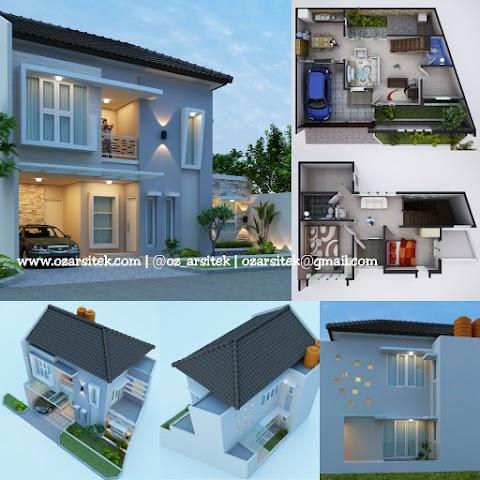 Desain Rumah Ibu Riyanti di Jakarta