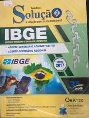 Valor R$35,00 Agente Censitário Administrativo e Agente Censitário regional