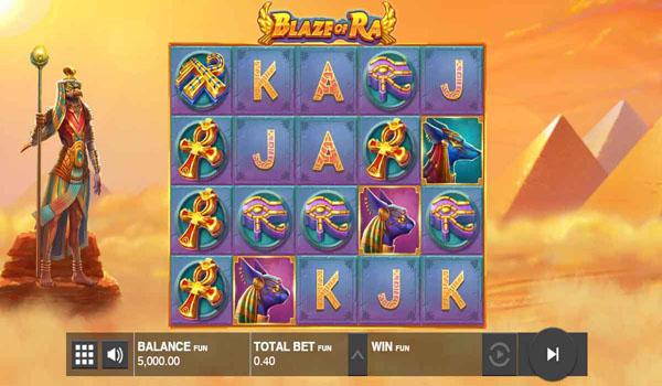 Main Gratis Slot Indonesia - Blaze of Ra Push Gaming