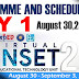 SHEDULE AND ENROLLMENT PROCESS OF VINSET 2.0