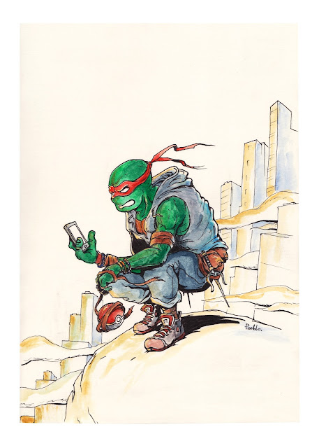 TMNT cowabunga fanart ninja turtle