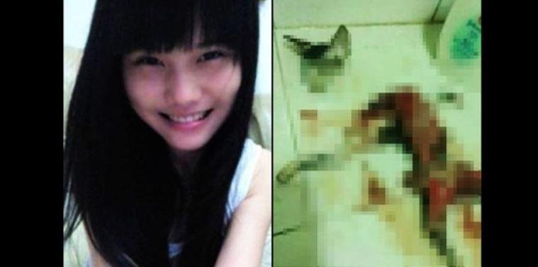 Sedih, Gara-gara Curi Makanan di Dapur, Kucing Ini Dimutilasi Oleh Gadis Ini.