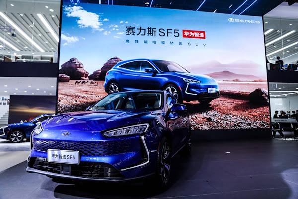 Huawei entre no segmento automotivo com SERES SF5 - SUV híbrido elétrico