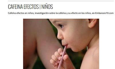 http://embarazo10.com/cafeina-efectos-ninos/