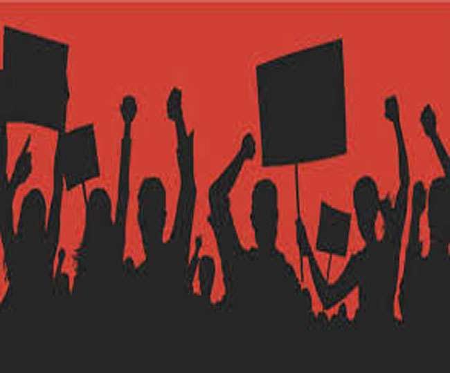 नई शिक्षक भर्ती की मांग को लेकर सड़क पर उतरे डीएलएड प्रशिक्षु