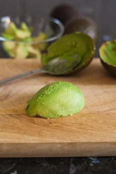 Očišćen avokado
