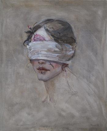 """Songe mensonge"" by Dongni Hou | images de solitude et tristesse | bel ouvres d'art"
