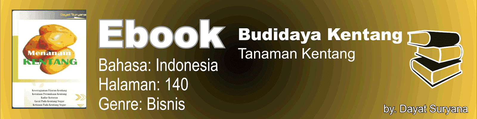 Buku Budidaya Kentang